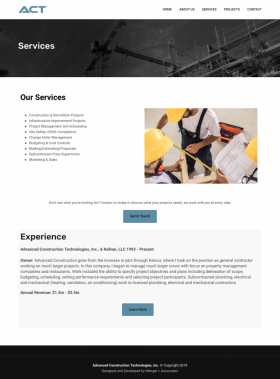 ACT. SERVICES
