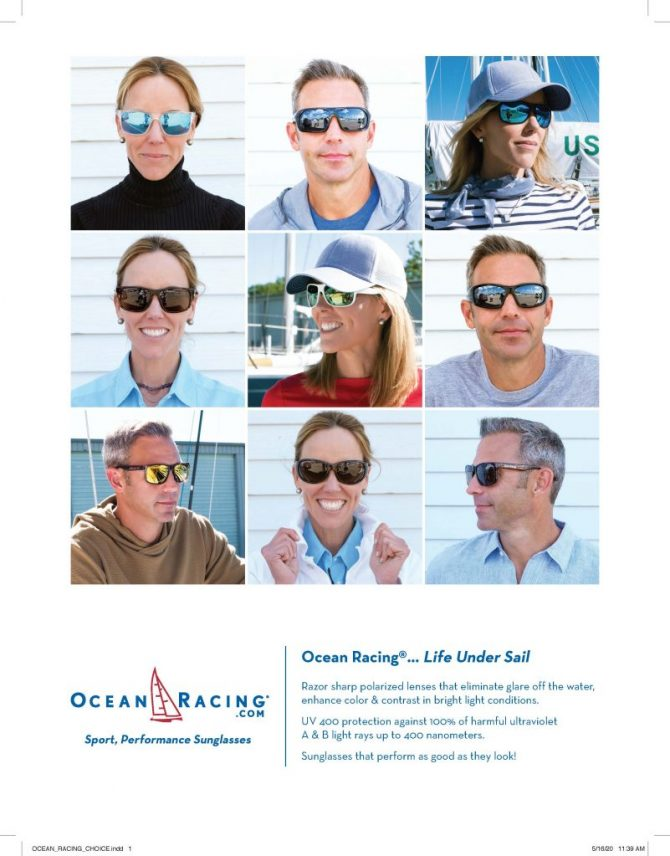 Ocean Racing Yachting Word Nat. print ad